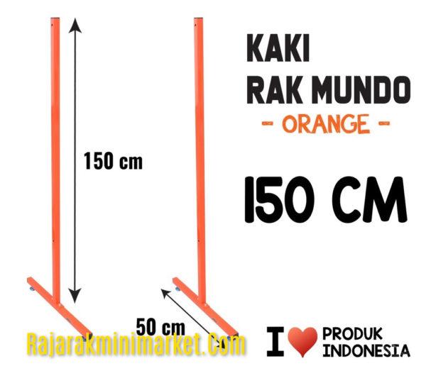 KAKI RAK MUNDO 150 ORANGE