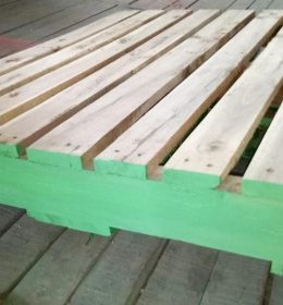 PALLET KAYU TWO WAY ENTRY RIVERSIBLE