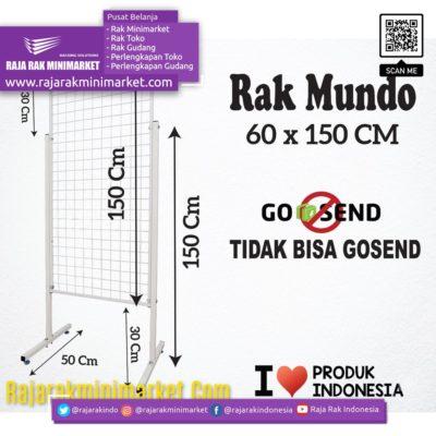 RAK MUNDO 60X150 CM rajarakminimarket raja rak indonesia raja rak gudang