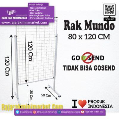 RAK MUNDO 80X120 CM rajarakminimarket raja rak indonesia raja rak gudang