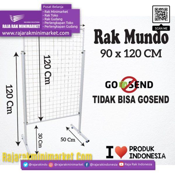 RAK MUNDO 90X120 CM rajarakminimarket raja rak indonesia raja rak gudang