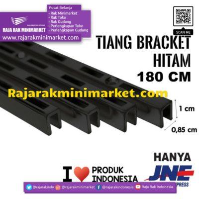 TIANG BRACKET HITAM 180 CM TIPE TBH180 rajarakminimarket raja rak indonesia raja rak gudang