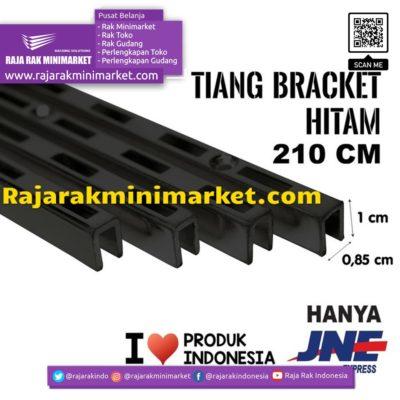 TIANG BRACKET HITAM 210 CM TIPE TBH210 rajarakminimarket raja rak indonesia raja rak gudang