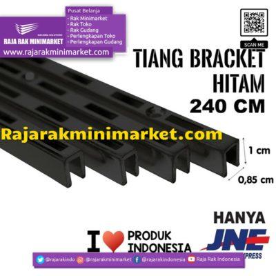 TIANG BRACKET HITAM 240 CM TIPE TBH240 rajarakminimarket raja rak indonesia raja rak gudang