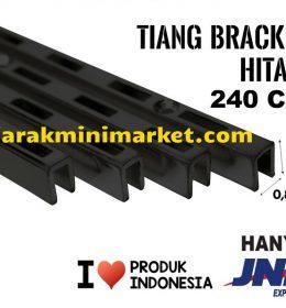 TIANG BRACKET HITAM 240 CM TIPE TBH240