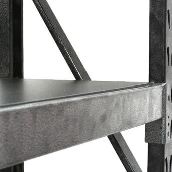 Tactix Rak Besi 4 Tingkat 104x43x183 Cm