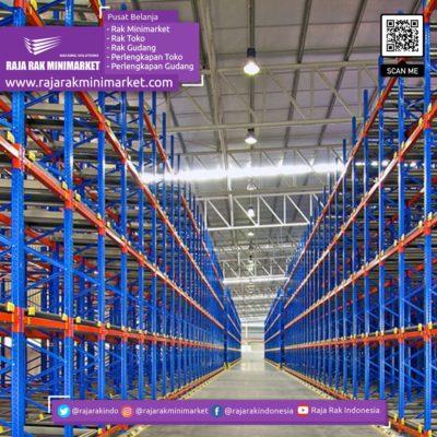 SELECTIVE RACKING SYSTEM Rak Gudang Heavy Duty Warehouse Pallet Rack