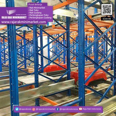 SHUTTLE CARRIER RACKING SYSTEM Rak Gudang Heavy Duty Warehouse Rack