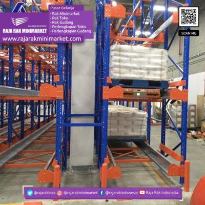 SHUTTLE RACKING SYSTEM Rak Gudang Heavy Duty Warehouse Rack