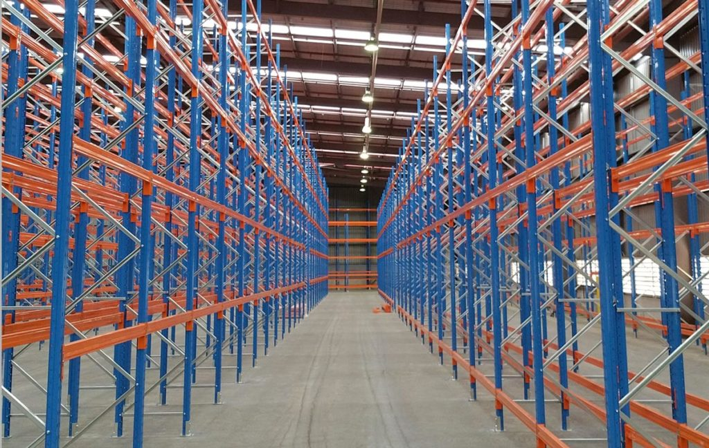 SELECTIVE RACKING SYSTEM | Rak Gudang Heavy Duty Warehouse Pallet Rack