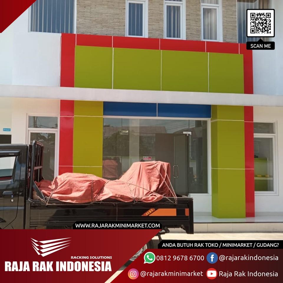 Pengiriman serta Pemasangan Rak Minimarket dan Meja Kasir, ke Sukabumi,