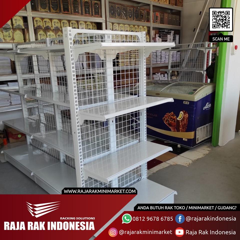 Pengiriman Rak Minimarket ke Pondok Pesantren Minhaajur Rosyidiin, Lubang Buaya