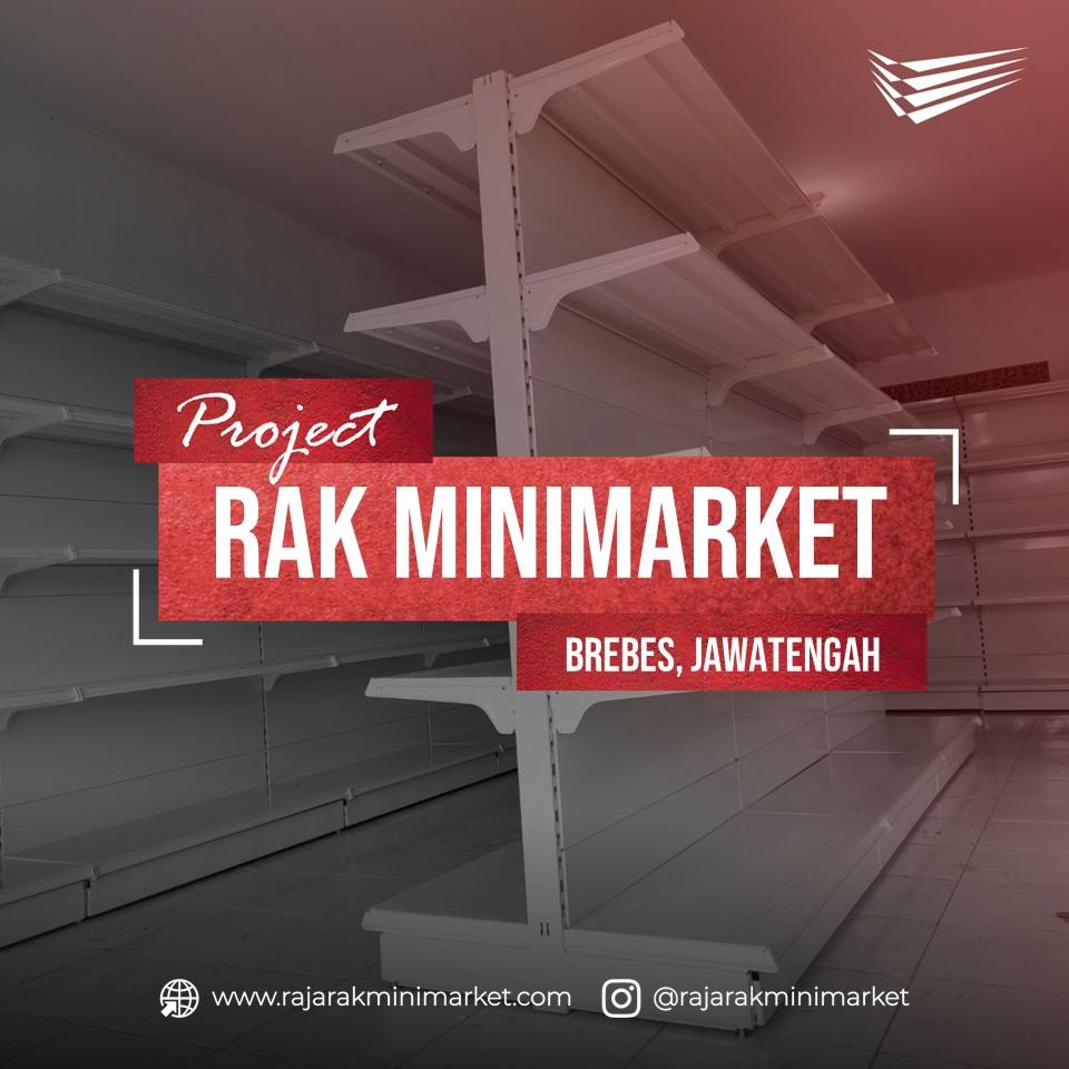 Pengiriman Serta Pemasangan Rak Minimarket di Bumiayu, Brebes, Jawa Tengah