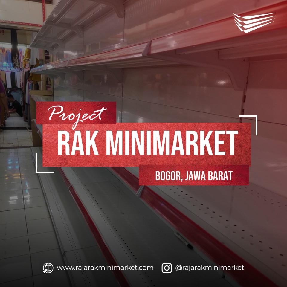 Pengiriman Rak Minimarket ke Pasar Cileungsi, Bogor, Jawa Barat